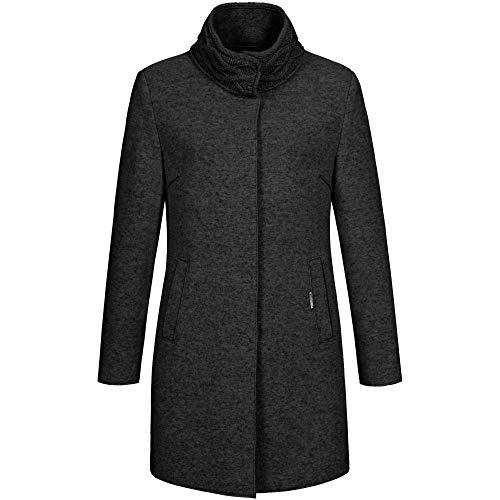 GIESSWEIN Mantel Marion - Leichter Damen-Mantel aus Wolle, Warme Herbst-Jacke für Frauen, Filzwolle Cardigan, Gehrock