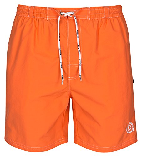 Bugatti® - Herren Badeshort in orange, Größe M