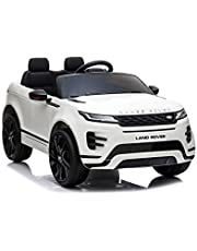 Evoque 12V Kids Ride On Car White Ride On Car Officially Licensed By RAYAN TOYS EVA & LETHER