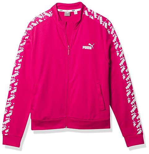 PUMA Amplified Track Jacket Chaqueta, Bright Rose, XL para Mujer