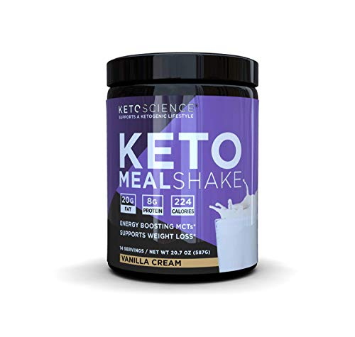 Science ketogenic meal supplement Vanilla, rich in protein and MCTs, Paleo Friendly, loss of weight, 14 portions, 20.7 oz. WINDMILL HEALTH PRODUCTS can vary by packaging