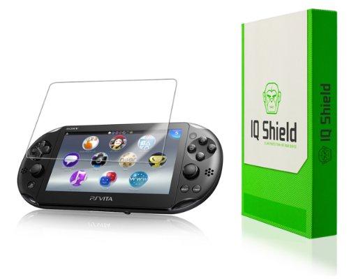 IQ Shield Screen Protector Compatible with Sony PS Vita (PCH-2000) LiquidSkin Anti-Bubble Clear Film