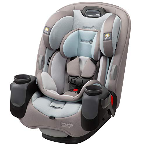 Safety 1st Grow & Go Comfort Cool 3-in-1 Convertible Car Seat, Niagara Mist, One Size