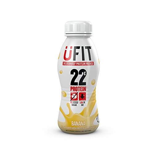 UFIT High Protein Drink - Case of 8 Banana Flavour 310ml