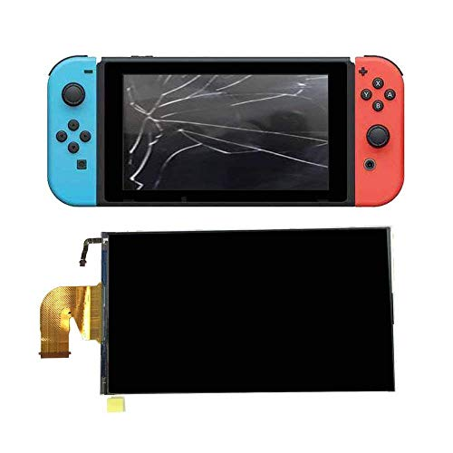 Replacement LCD Screen for Nintendo Switch, G-Dreamer Replacement Parts Accessories LCD Screen Display Glass Assembly for NS Console Video Game System