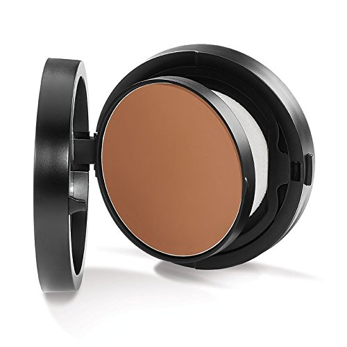 Youngblood Clean Luxury Cosmetics Mineral Radiance Crème Powder Foundation, Coffee (Refill Pan) | Foundation For Oily Skin Rosacea Matte Shine-Free Pressed Compact Natural Mineral | Cruelty-Free, Para
