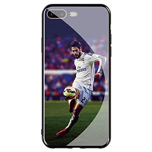 Compatible with Funda iPhone 7 Plus & Funda iPhone 8 Plus Tempered Glass Phone Case Cover Al Pac ino Black An d White Case_Mode_020