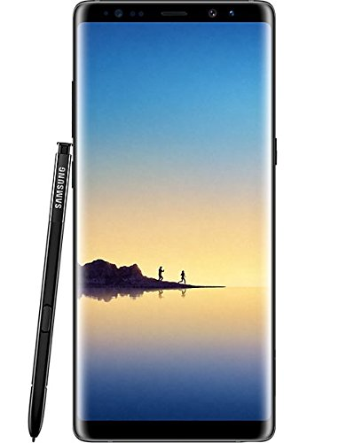 Samsung Galaxy Note 8 Duos SM-N9500 Dual-SIM 6GB RAM Smartphone UK Sim-Free Unlocked - 64GB Midnight Black