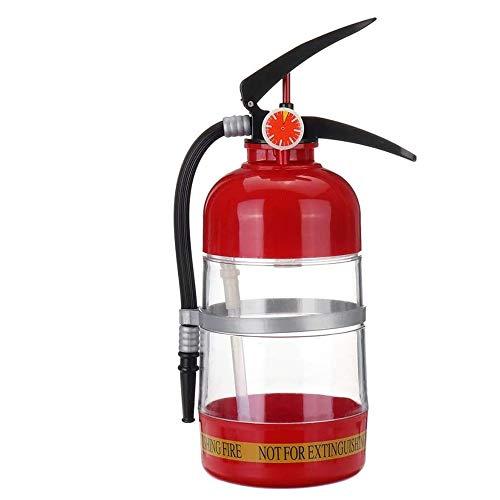 Dispensador de Bebidas originalidad para extintor de Incendios, 2L de Gran Capacidad, dispensador de Agua para botellero invertido, para Fiestas, Cocina, Camping
