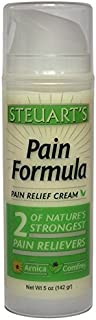 Steuart's Pain Relief Cream   Natural Pain Management   Arthritis Pain Relief   Muscle Pain   Back Pain   Joint Pain   Natural Pain Cream   Free Shipping