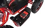 Mini Elektro Kinder Racer rot/schwarz - 7