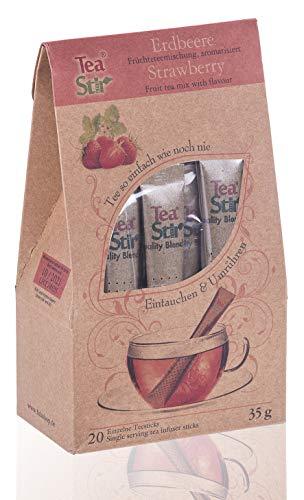 Erdbeertee | 20 umweltfreundliche Teesticks - Tea Sticks