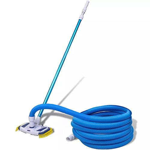Best Prices! JeeKan Suction Above Ground Pool Cleaner Suction Pool Cleaning Tool Vacuum with Telesco...