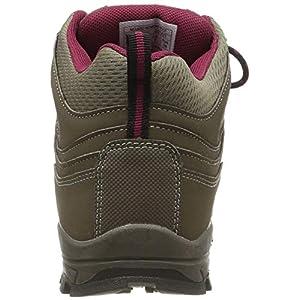 Mountain Warehouse McLeod Womens Hiking Boots - Ladies Walking Shoes Brown Womens Shoe Size 8 US
