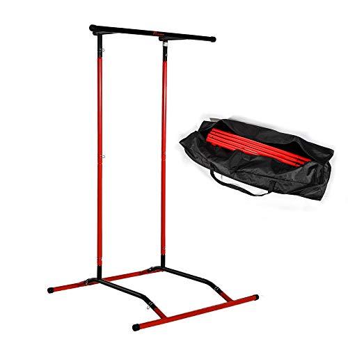 WUPYI2018 Klimmzugstange, höhenverstellbar, maximale Belastung: 110 kg, Feste Stange für Klimmzüge und Bauchmuskeln zum Aufhängen