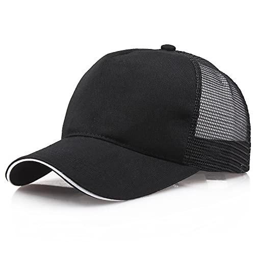 TGRBOP Sombreros Ajustados De Ocio Sombrero Suave Transpirable Ligero Para Mujer Hombre Gorra Con Visera Unisex De Moda Salvaje Simple Gorra De Béisbol Con Protección Solar De Verano Para Pesca Sender