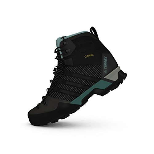 adidas Damen Terrex Scope High GTX W Trekking- & Wanderstiefel, Grau (Tragre/Cblack/Vapste Tragre/Cblack/Vapste), 40 2/3 EU