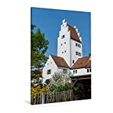 Premium Textil-Leinwand 80 x 120 cm Hoch-Format Taschenturm