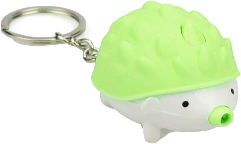 Adorable Hedgehogs Mini Key Fob Keychain