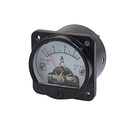 Amperemeter SO-45 Amperemeter Analog rund Genauigkeit AC 0 – 10 A CA Klasse 2.5