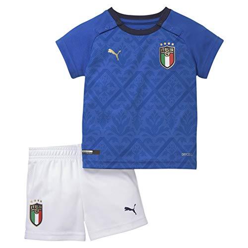 PUMA Jungen Trikot FIGC Home Babykit, Team Power Blue/Peacoat, 92, 756456