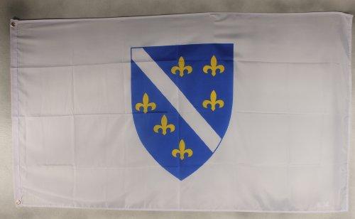 Flagge Fahne ca. 90x150 cm : Bosnien-Herzogowina (alt) Nationalflagge Nationalfahne