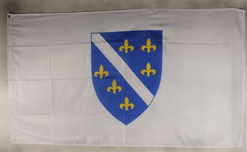 Flagge Fahne ca. 90x150 cm : Bosnien-Herzogowina (alt) Nationalflagge Nationalfahne