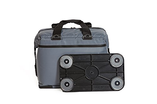 Magna Cool Magnetic Bottom Soft Cooler Ice Chest, 24 Can