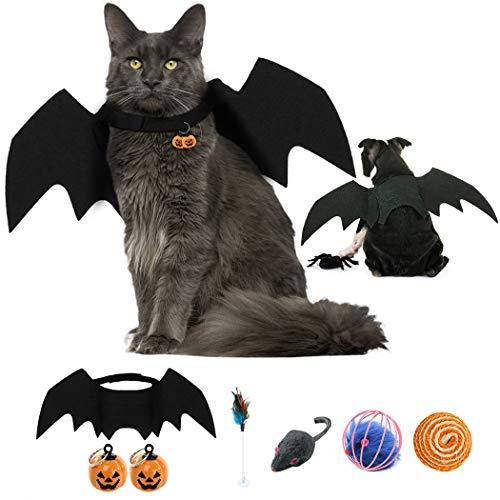 JUSTDOLIFE Costume di Halloween Costume per Gatti Costume per Cani