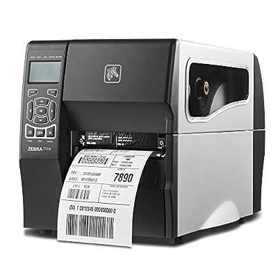 Zebra ZT230 Thermal Transfer Industrial Printer 300 dpi Print Width 4 in Serial USB Ethernet ZT23043-T01200FZ