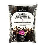 GebEarth - Terriccio per Orchidee, Substrato per Orchidee da 1 Litro【 Terriccio Professionale per tutte le Orchidee 】