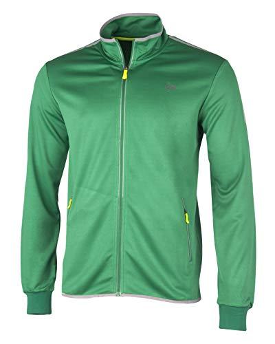 Dunlop Jungen Club Line Boys Knitted Jacket, grün, 164