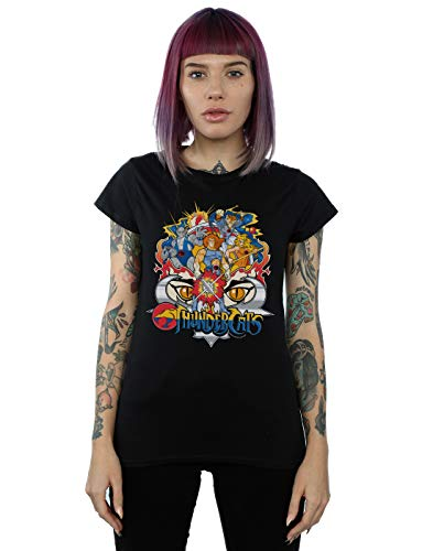 Women's Thundercats Group Shot T-shirt, Black, Navy, S to XXL