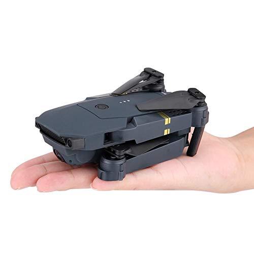 Dilwe Faltbare RC-Drohne, 2,4 GHz 4-Kanal-200-W-Weitwinkelkamera WiFi Quadcopter RC-Drohne EIN-Schlüssel-Start / Landung für Anfänger