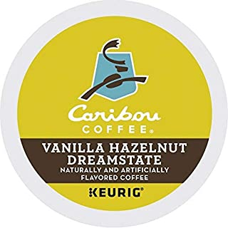 Caribou Coffee, Vanilla Hazelnut Dreamstate K-Cups (24 Count) - Packaging May Vary