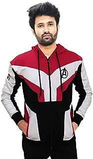 GameReserves Unisex Super Hero Avengers Endgame 100% Cotton Zipper Hoodie | Sweatshirts