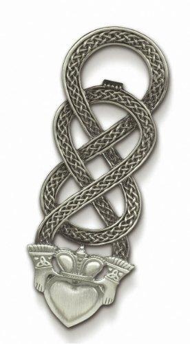 Grasslands Road Celebrating Heritage Celtic Claddagh Bottle Opener, Symbol For Love, Loyalty And Friendship, Metal, Gift Boxed
