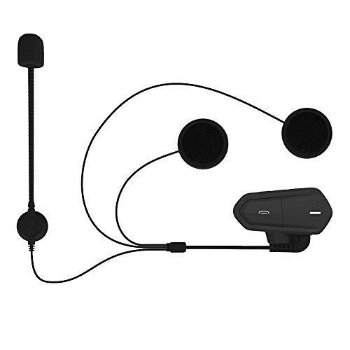 KKmoon B35 Bluetooth 4.1 + EDR para capacete para motocicleta Fone de ouvido à prova d'água de baixo consumo Fone de ouvido sem fio Suporte para rádio FM