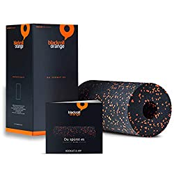 Faszientraining mit Blackroll Orange (Das Original) - DIE Selbstmassagerolle inkl. Übungs-DVD, Übungsposter & Booklet