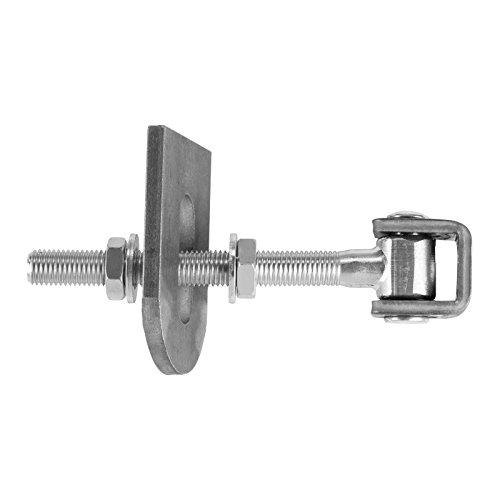 2 x SO-TOOLS® Torscharnier M16 U 185 mm mit Anschweißlasche verstellbar Konstruktionsband Torband Anschweißband