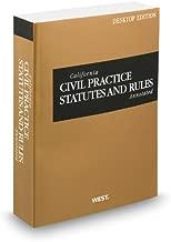 California Civil Practice Statutes and Rules Annotated, 2013 ed. (California Desktop Codes)
