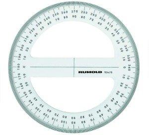 Winkelmesser GON 400g Vollkreis 15cm Präzision