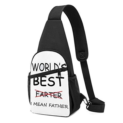 Sling Bags, Best Father Crossbody Bags For Men Shoulder Backpack Durable Travel Daypacks Wrinkle Resistance Chest Packs