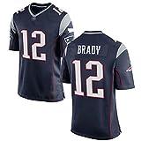 Combinaison de Rugby NFL légendaire deuxième génération du Super Bowl Maillot NFL Patriot Elite 12 Brady