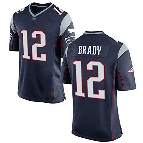 OMG Inc NFL Rugbyanzug legendären Super Bowl NFL Trikot Patriot Elite 12 Brady der zweiten Generation
