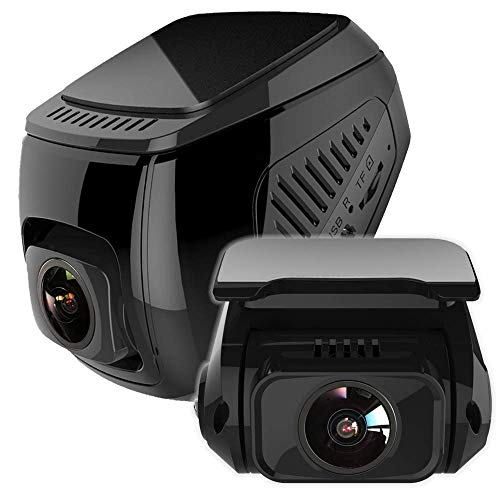 idealTech X1D Dash Cam Front and Rear 1080P+1080P Dual Lens Built-in WIFI, Powerd by SUPER Capacitor...