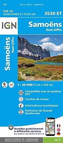Samoëns - Haut-Giffre 1 : 25 000