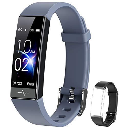 Fitness Tracker Blood Oxygen SPO2 HRV Health Smart...