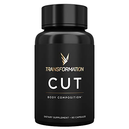 Cut Thermogenic Diet Pills | Support Healthy Metabolism, Use Fat For Energy, Modulate Hunger | L-Carnitine, Guggul Extract, Capsimax, Green Tea EGCG, TeaCrine | 60 Capsules Supplement