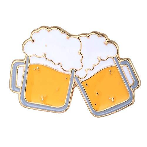 Alpenklunker Pin Anstecker Anstecknadel Hutnadel Maßkrüge Maß Bierkrüge Bier Wiesn Oktoberfest